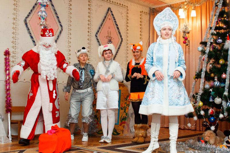 """Дед Мороз и Снегурочка от Арт-группы """"Импровизация"""""""