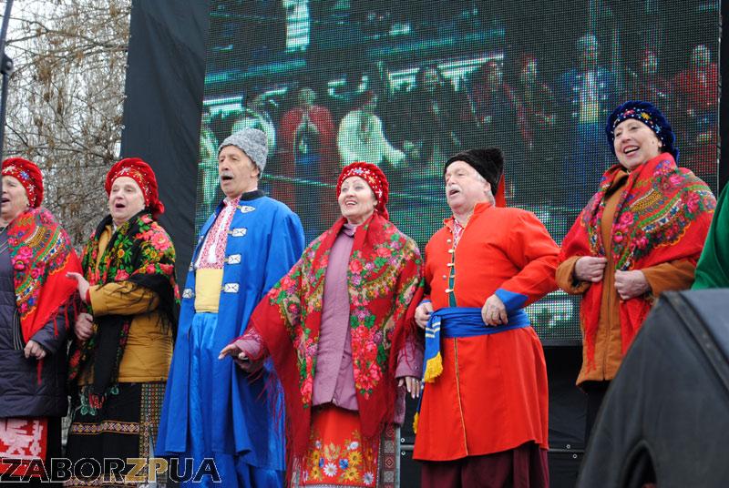 Масленица на Маяковского в Запорожье