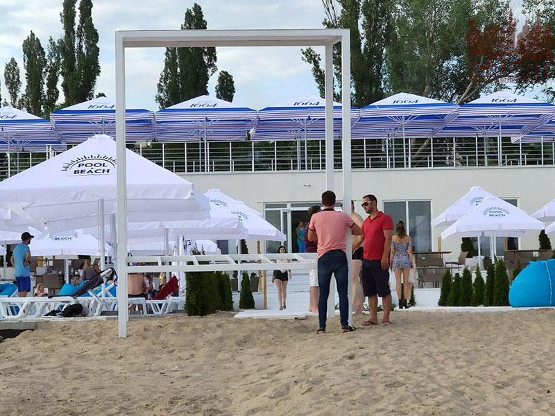 Открытие пляжно-развлекательного комплекса Pool & Beach (Запорожье)