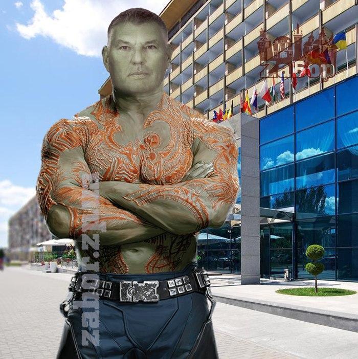 Виктор Хоцкий – Дракс