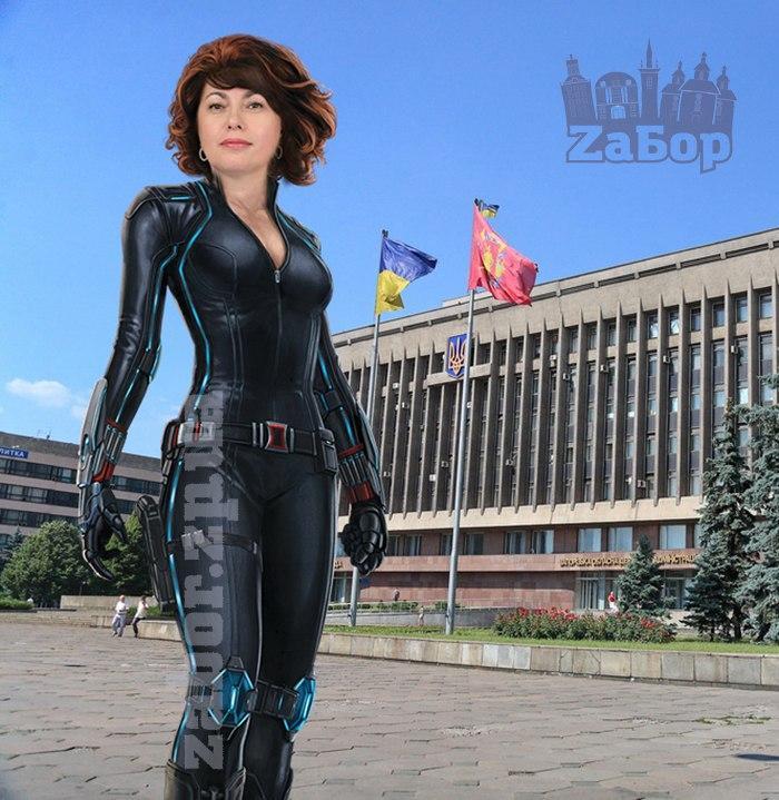 Элла Слепян – Черная вдова (Наташа Романова)