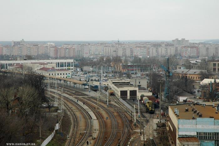 Железнодорожный вокзал Запорожье-1