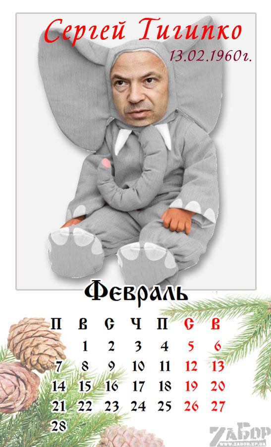 Сергей Тигипко. Февраль