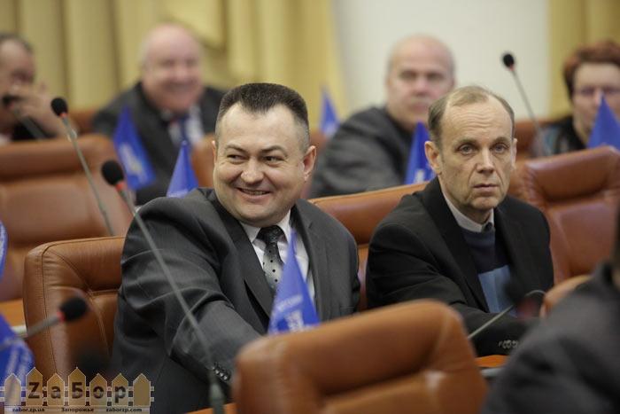 Василий Полюсов - новый глава земельной комиссии (сессия, Запорожье)