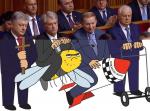 Президенты на инаугурации Зеленского