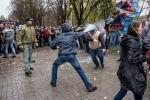 Столкновения между майданом и антимайданом  в Запорожье