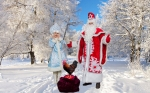 """Дед Мороз и Снегурочка от Арт-группы """"Импровизация"""