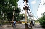 Милиция в веревочном парке (Запорожье)