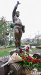 Памятник Леониду Жаботинскому в Запорожье