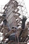 Памятник Переправа. Реконструкция 2010 год. Запорожье