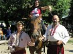 Наташа Королева на коне (Конный театр на о.Хортица, Запорожье)