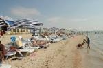 Пляж от базы отдыха Пересыпь в пгт. Кирилловка