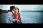 Влюбленная пара в Днепропетровске