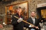 В Запорожье нашли меч времен князя Святослава