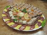 Мясное ассорти, Буженина, Сало-шпик, сырное ассорти