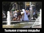 Тыльная сторона свадьбы в Запорожье :)